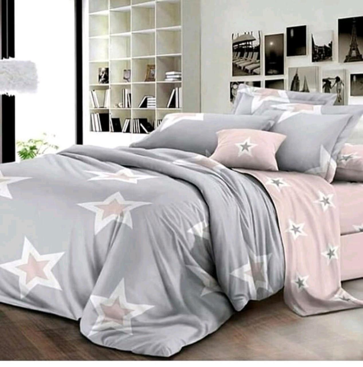 Красивое постельное белье евро, сириус