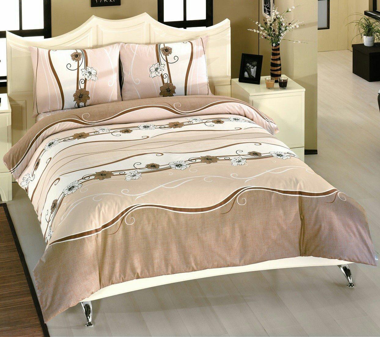 Красивое постельное белье евро, волна