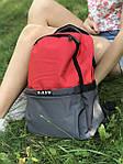Женский стильный рюкзак, яркий, фото 4