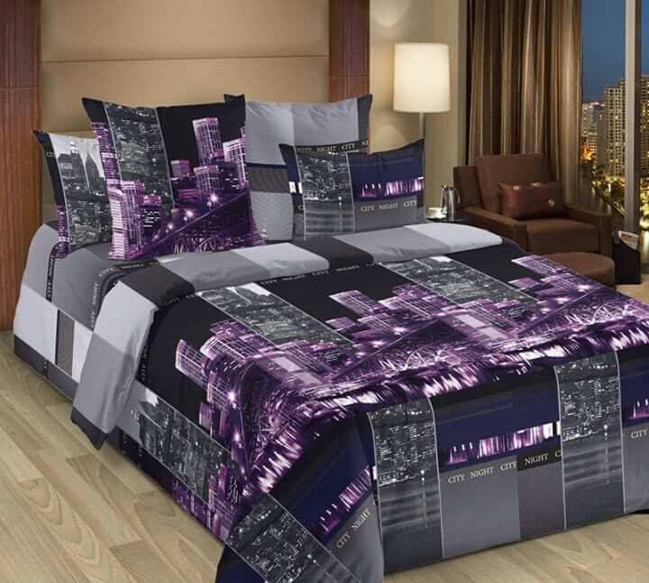Качественное красивое постельное белье полуторка, города