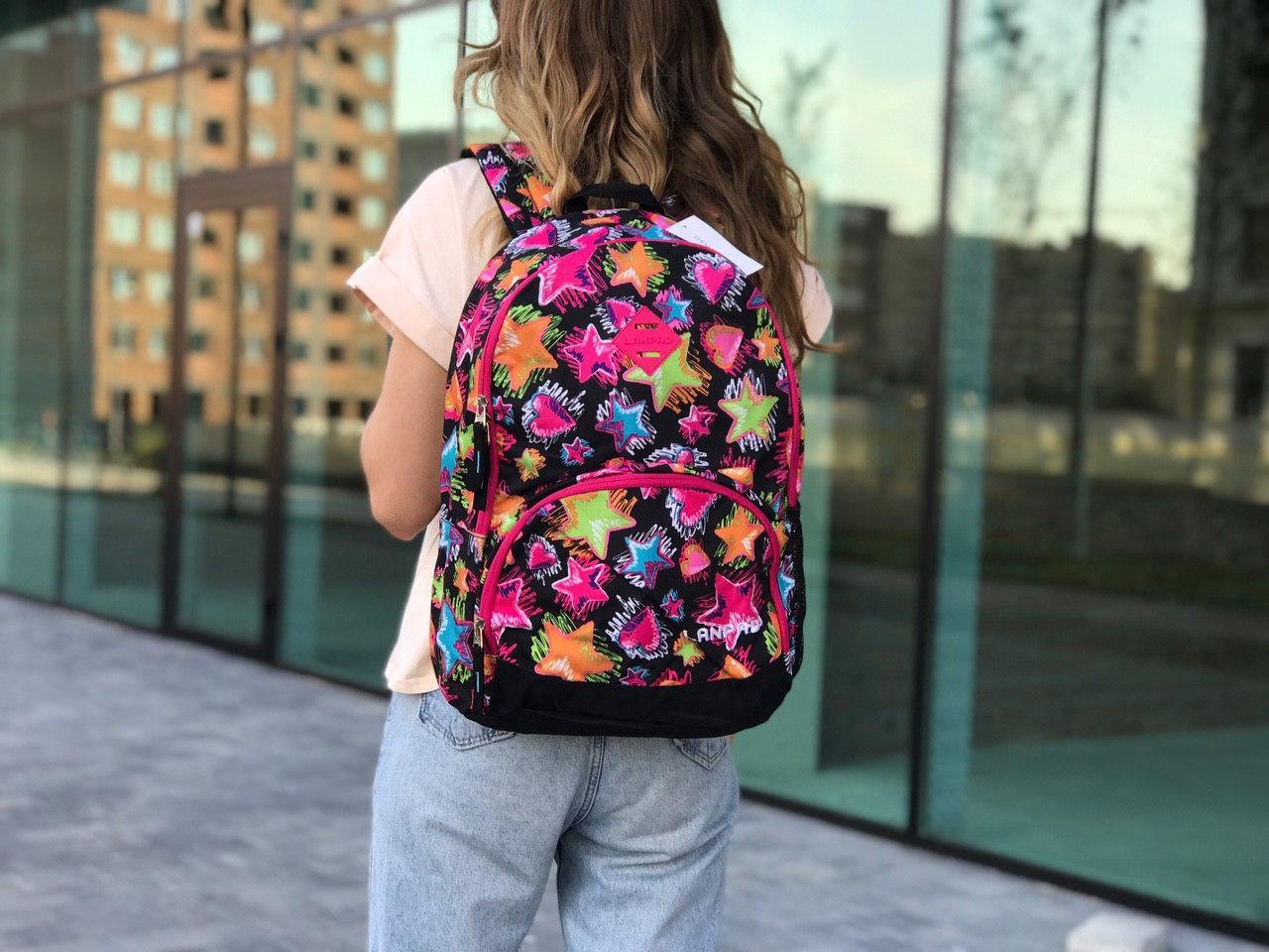 Женский спортивный рюкзак, цветной