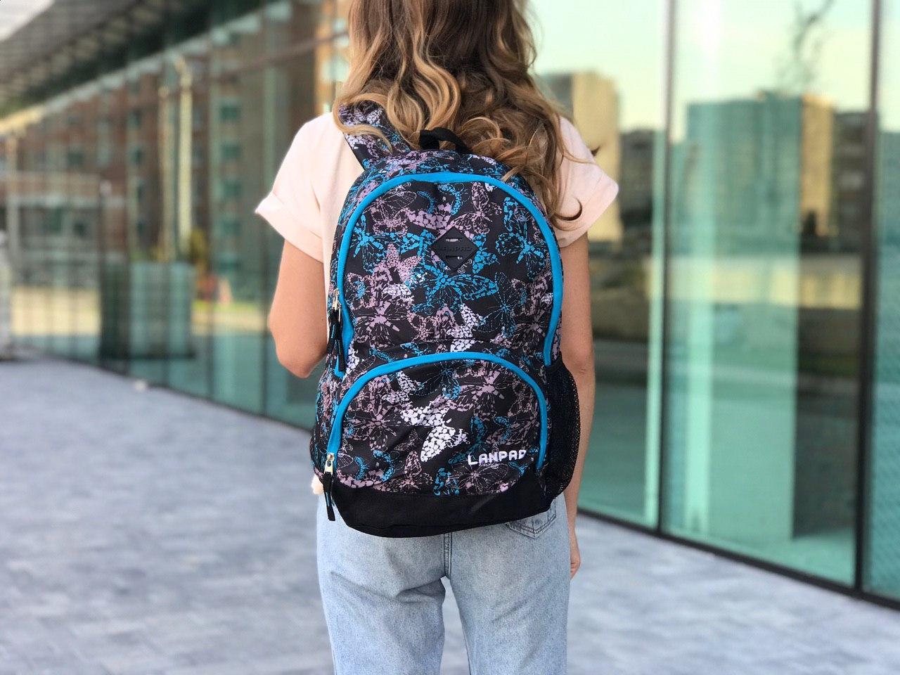 Женский спортивный рюкзак с бабочками