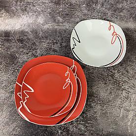 Сервіз столовий Данко-М 2073-10009-R 18 предметів