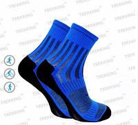 Функціональні анатомічні шкарпетки ShortDry (40-43) М чорно-сині.