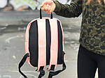 Женский стильный рюкзак Puma пудровый, фото 4
