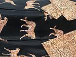Красивое постельное белье евро, леопарды, фото 2
