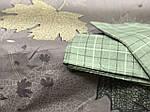Постельное белье евро с листвой, фото 2