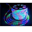 Гирлянда Дюралайт светодиодный шланг,RGB круглый 100 метров  220вт, фото 2