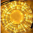 Гирлянда Дюралайт светодиодный шланг,RGB круглый 100 метров  220вт, фото 3