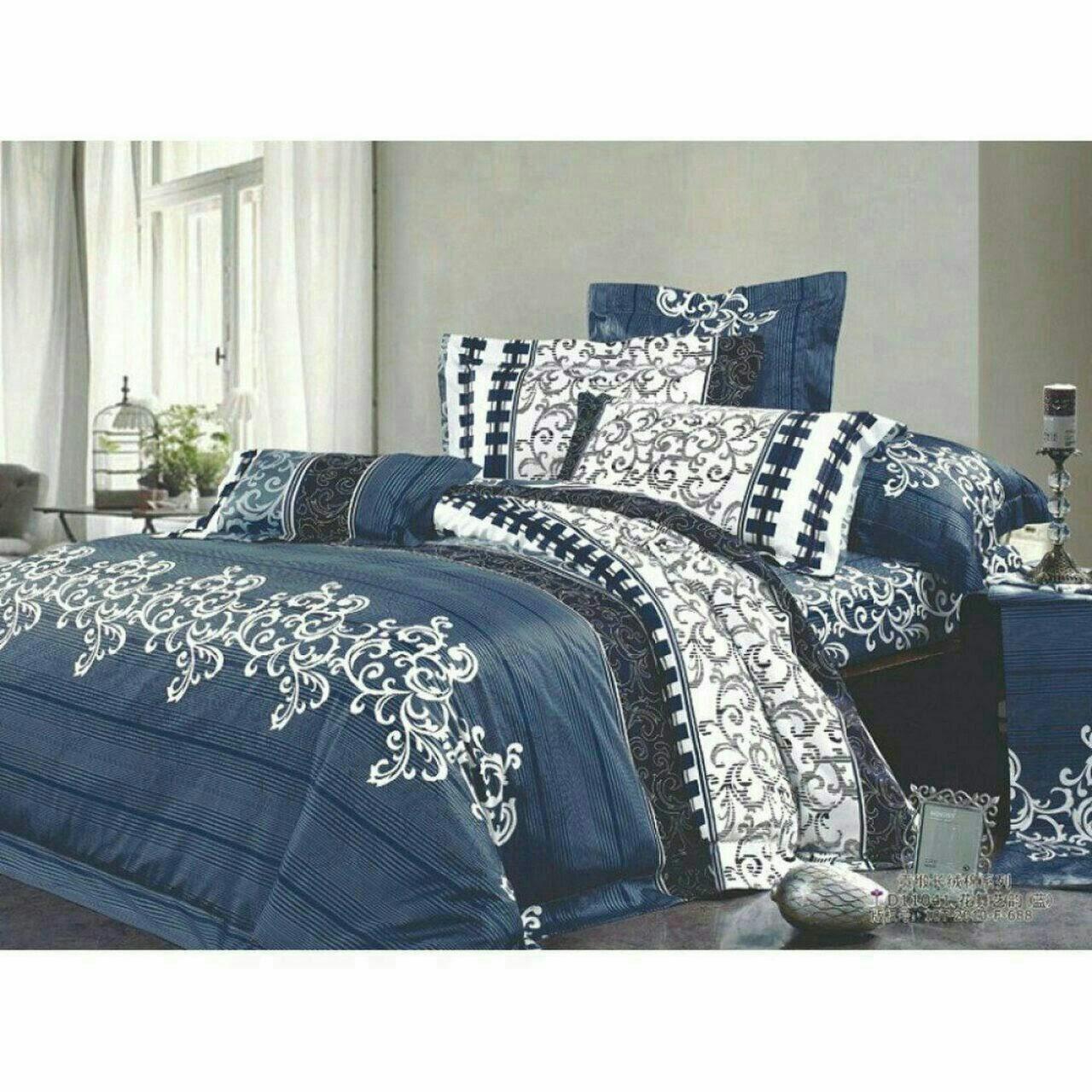 Красивое и качественное постельное белье, двухспалка, вензель джинс