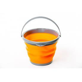 Ведро складное Tramp TRC-092-orange 5 л оранжевое