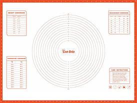 Силиконовый коврик 60х80 см Con Brio CB-680-coral