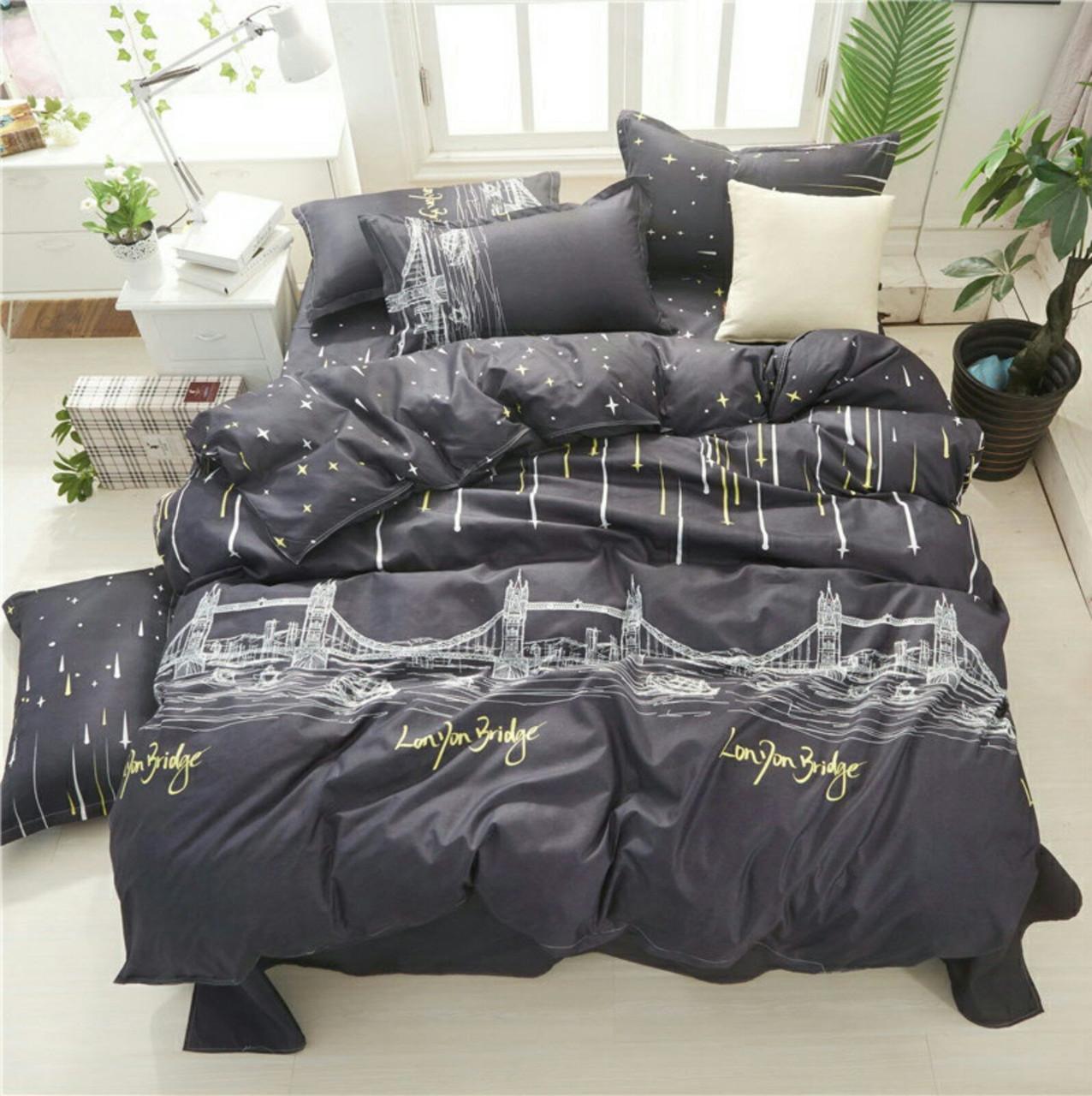 Стильное постельное белье супер качества, двухспалка, будапешт