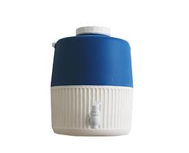 Термос диспенсер для розливу напоїв Mazhura Kale MZ-1002-BLUE 10 л синій