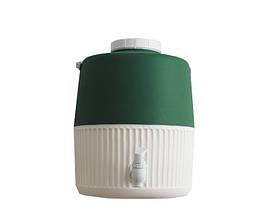 Термос диспенсер для розливу напоїв 10 л зелений Kale Mazhura MZ-1002-GREEN