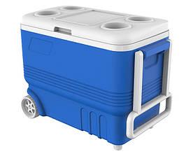 Термобокс на колесах 45 л Mazhura синий MZ-1032-BLUE