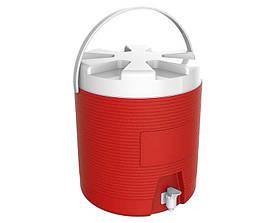Термос диспенсер для разлива напитков 6 л красный Kale Mazhura MZ-1010-RED