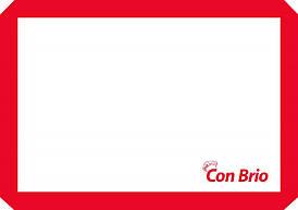 Силиконовый коврик 42х29,5 см Con Brio CB-678-Red