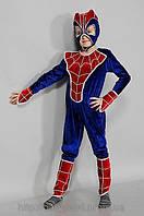 Детский карнавальный красочный костюм Человек Паук р.30-36, фото 1