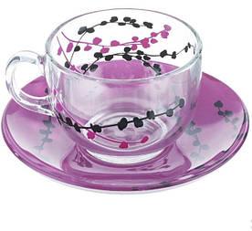 Сервіз чайний Luminarc Kashima Purple N3627 12 предметів
