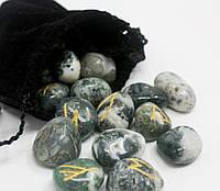 Руны из натурального камня Яшма.