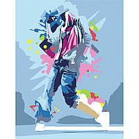 "Набор-стандарт, картина по номерам, Dance Girl"", 35х45см, ROSA START"