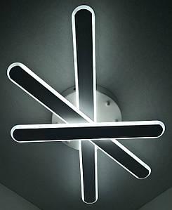 Светодиодная потолочаня LED люстра 6203/3-wh Белый 9х37х61 см.