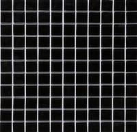 Черная стеклянная мозаика B 066