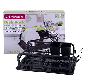 Сушилка для посуды 41х28х13,5 см Kamille KM-0752