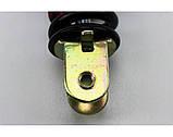 (HAOCHUAN) Амортизатор задний GY6/Honda - 325мм*d43мм (втулка 10мм / вилка 8мм), черный 1 / 2, фото 2