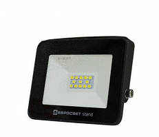 Прожектор светодиодный ЕВРОСВЕТ 10Вт 6400К EV-10-504 STAND 800Лм