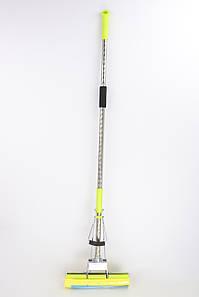 Швабра с телескопической разъемной ручкой и двумя отжимами Kamille KM-0315