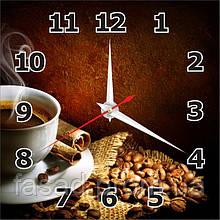 2D годинник настінний (Кава) Код-11532