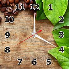 2D годинник настінний (Кава) Код-11533