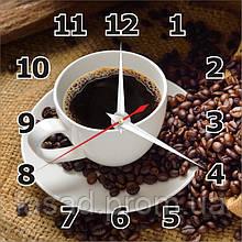 2D годинник настінний (Кава) Код-11534