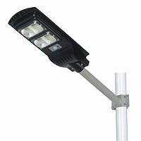 Led светильник 80W на солнечной батарее с пультом. Светодиодный фонарь на столб 80Вт