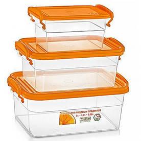 Набор контейнеров пищевых Stenson NP-59 3 шт/уп