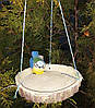 Кормушка для птиц синичка на березе и синичка на сосне, фото 4