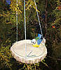 Кормушка для птиц синичка на березе и синичка на сосне, фото 2