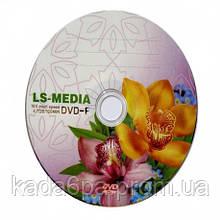 Диск DVD-R LS-MEDIA 4.7GB Орхидеи