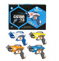 Набір лазерного зброї Canhui Toys Laser Guns CSTAR-23 (4 пістолета) (BB8823C), фото 1