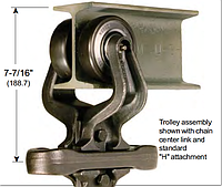 Каретка для разборных цепей Р2-100, Р2-160