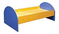 Кровать детская (с заокругленной спинкой)