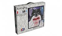 """Картина из легкого пластилина ОКТО, Moon Light Clay """"Волчица"""", 70077-001"""
