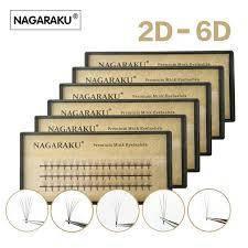 Пучковые ресницы nagaraku 4D