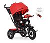Велосипед-коляска детский трехколесный с поворотным сиденьем Turbo Trike M 4060-1 красный
