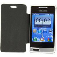 Телефон Самсунг А 320 на 2 сим карты,в подарок чехол и стилус., фото 1