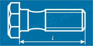 Как определить длину болта с шестигранной головкой и направляющим подголовком