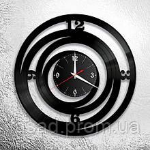 Годинник з оргскла настінний 3D Код-11107