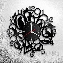 Годинник з оргскла настінний 3D Код-11109